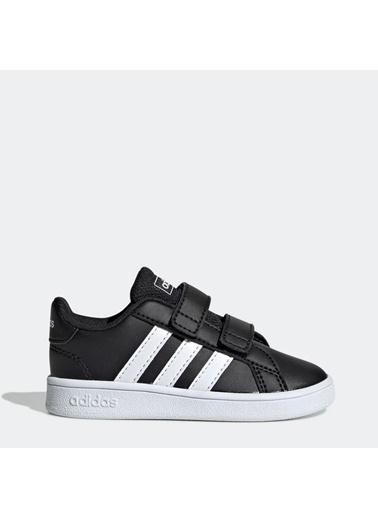 adidas Grand Court I Bebek Spor Ayakkabısı Ef0117 Siyah